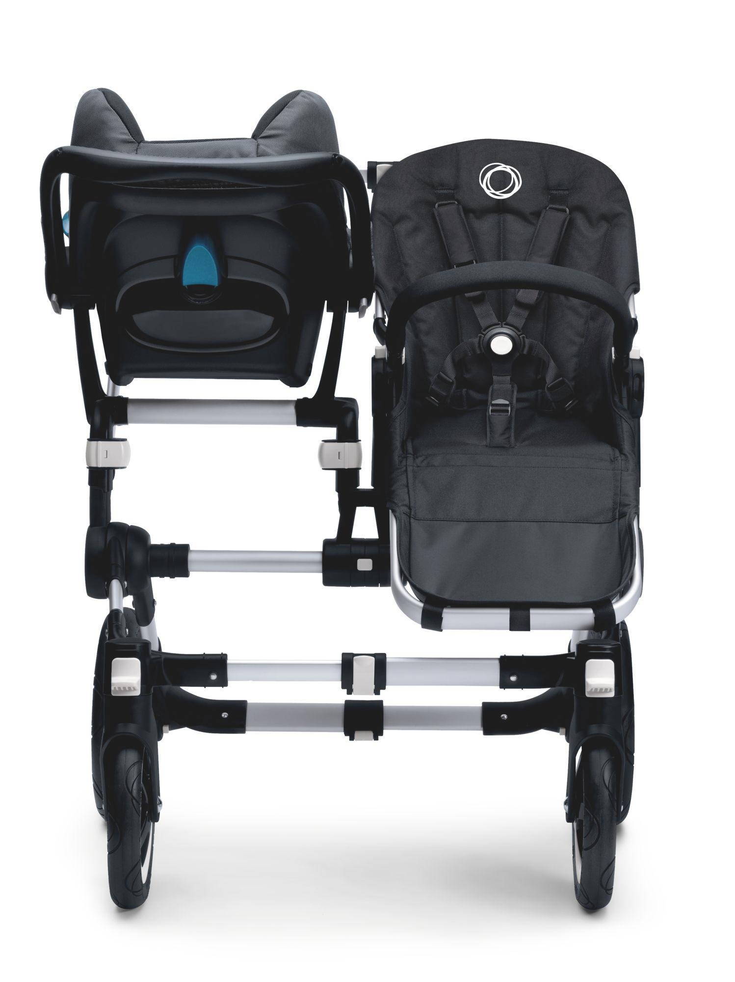 bugaboo donkey britax romer car seat adapter twin baby. Black Bedroom Furniture Sets. Home Design Ideas