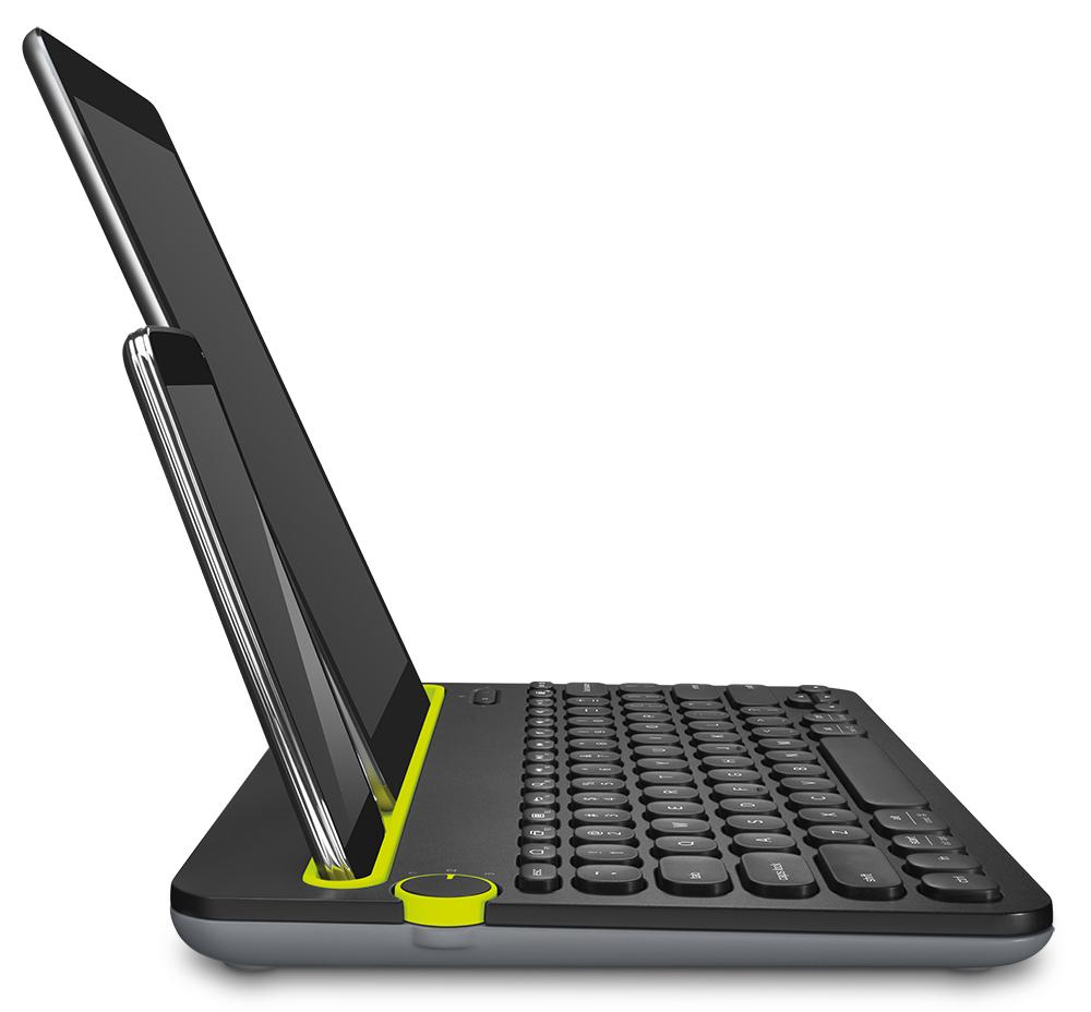 External Bluetooth Keyboard For Android Phone: Logitech Bluetooth Multi-Device Keyboard K480 For Computers, Tablets And Smar...