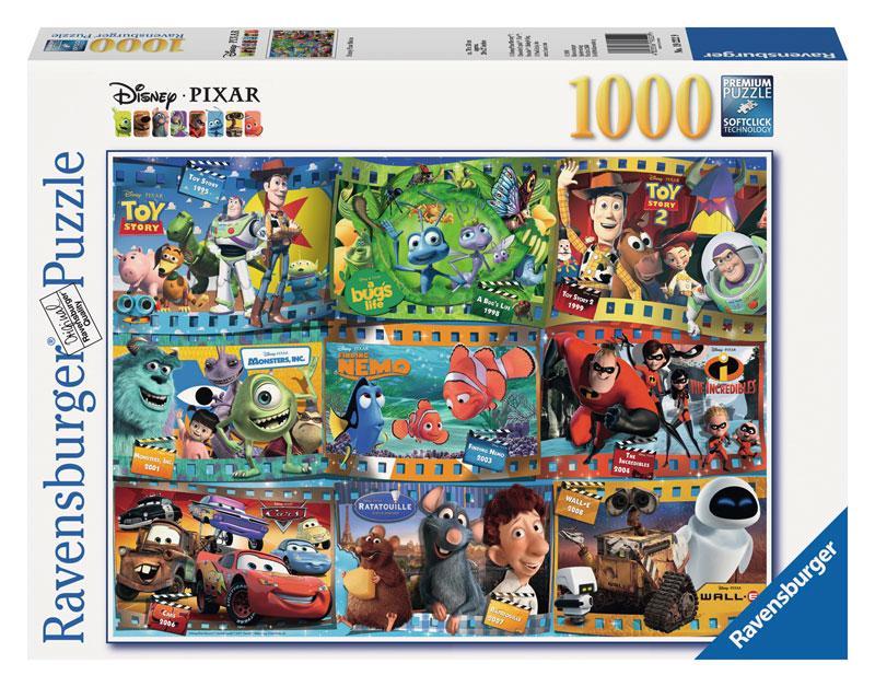 Amazon.com: Ravensburger Disney Pixar: Disney-Pixar Movies (1000-Piece