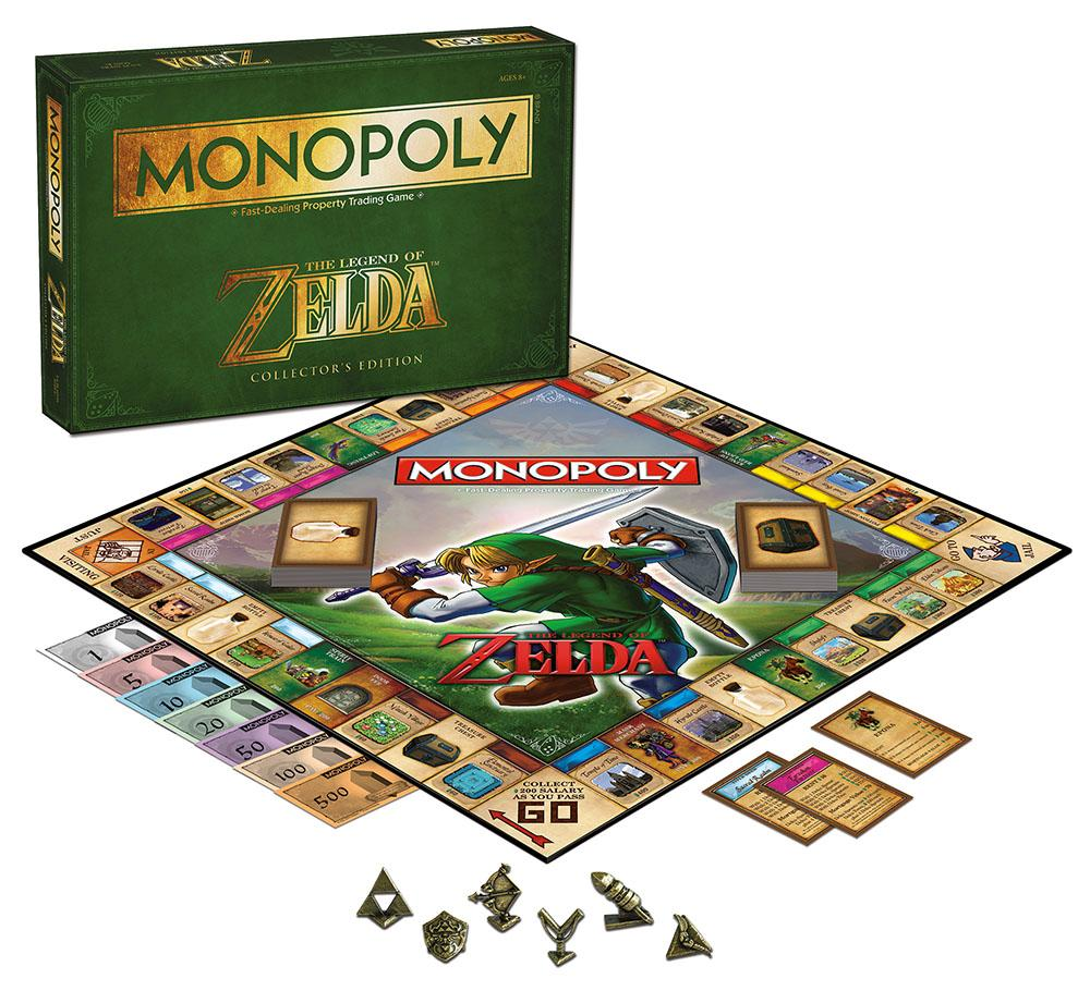 Toys And Games : Amazon monopoly the legend of zelda collector s