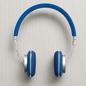 P3 blue, colorful heaphones, light headphones