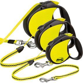 flexi Neon, reflective dog leash, night leash