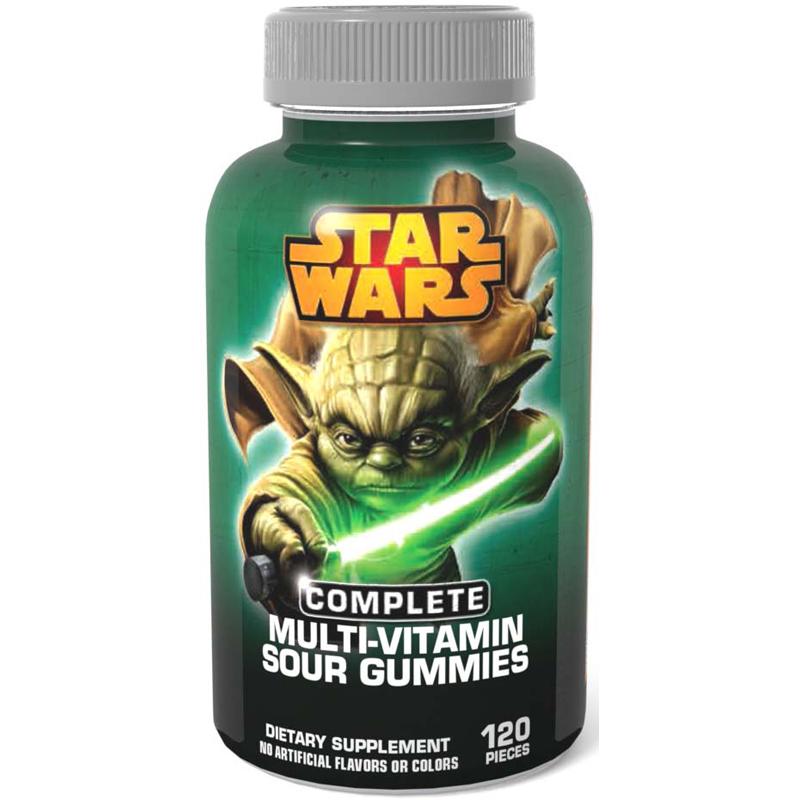 Amazoncom Star Wars Sour Complete MultiVitamin Gummies