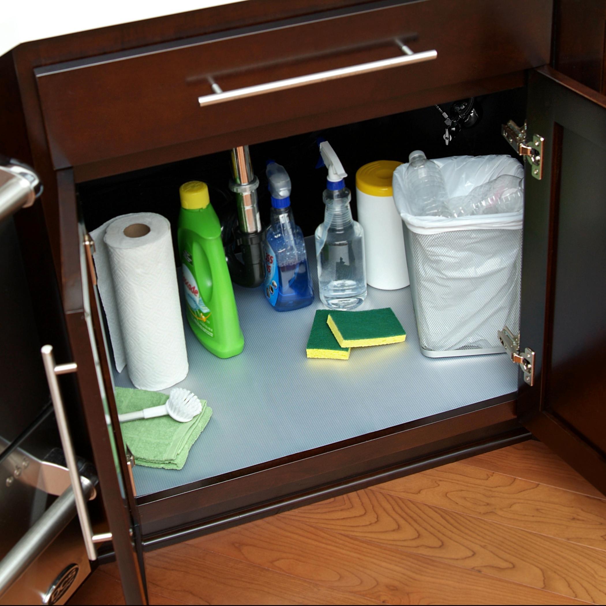 Kitchen Shelf Liner Reviews: Con-Tact Brand Under Sink Mat