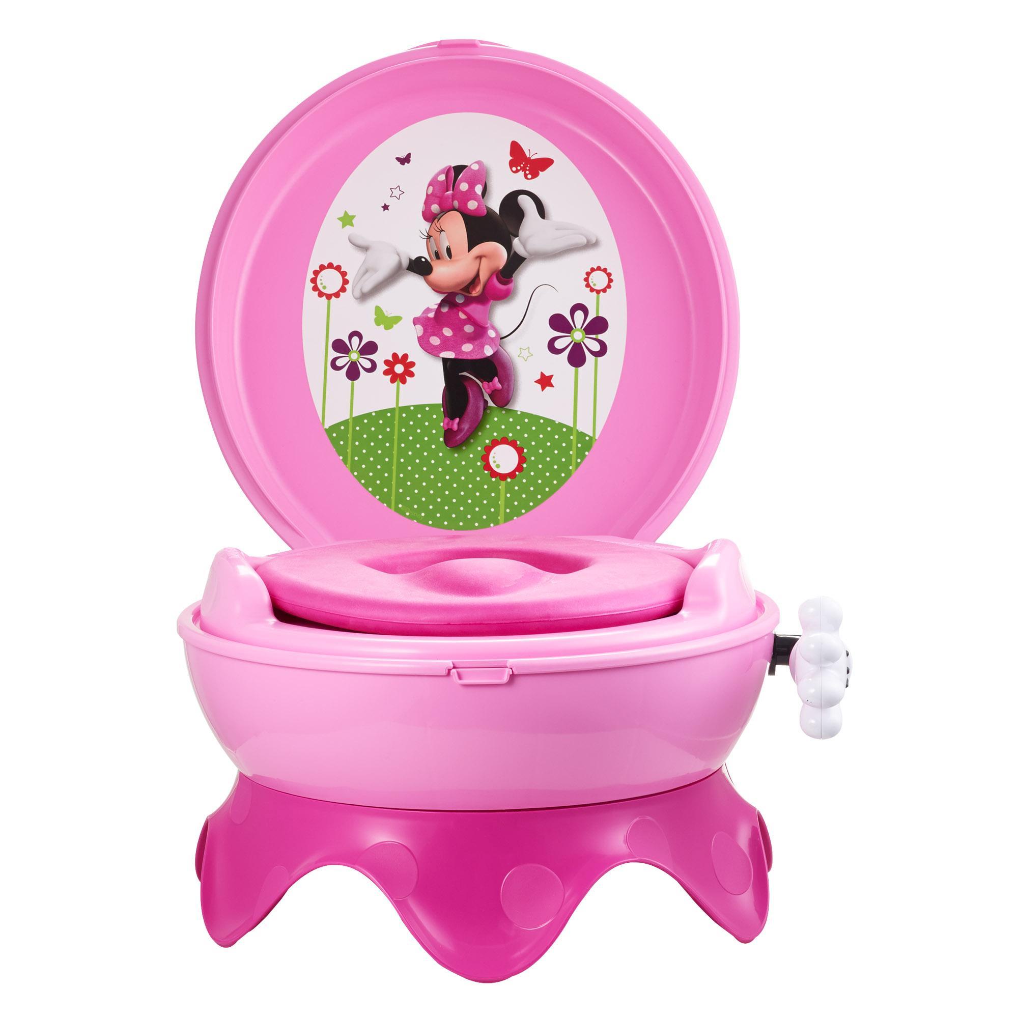 Minnie Mouse Potty Car Interior Design