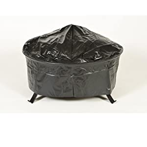 CobraCo Steel Fire Pit Covered