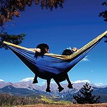 hammock, double hammock, camping hammock, eno, lightweight hammock, backpacking, parachute, nylon