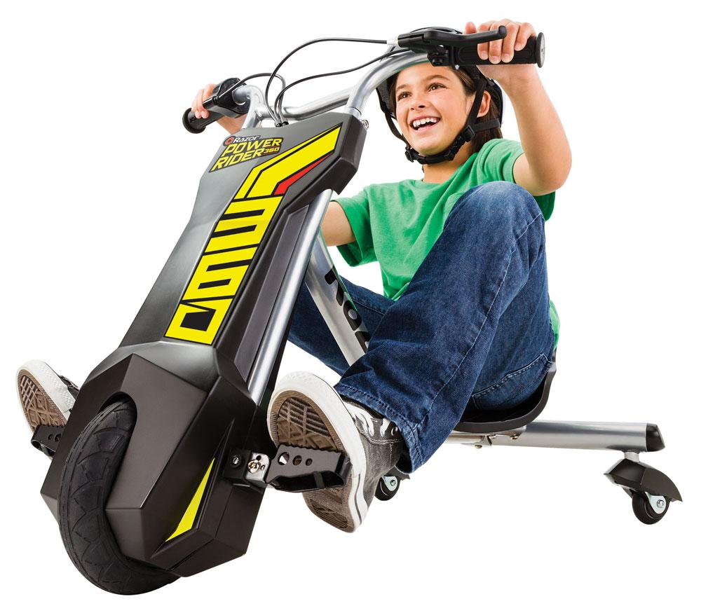 Amazon.com : Razor Power Rider 360 Electric Tricycle ...