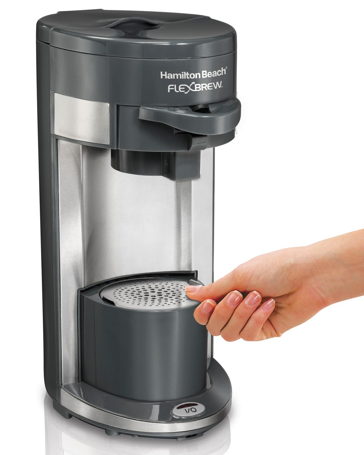 Amazon.com: Hamilton Beach Coffee Maker, Flex Brew Single-Serve (49963): Kitchen & Dining