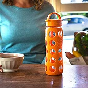 Lifefactory Bottle with Classic Cap