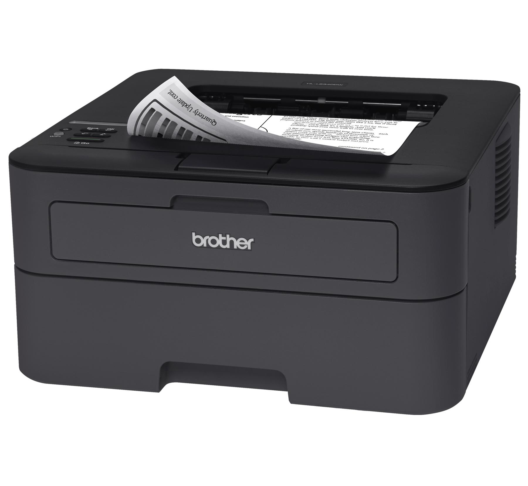 hl l2340dw compact laser printer with wireless and duplex this compact