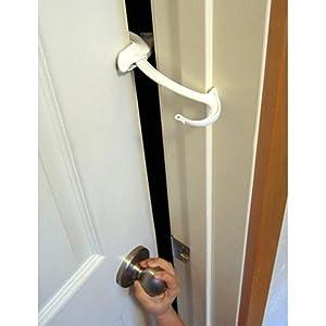 door monkey door lock and pinch guard childrens home