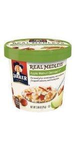 Amazon.com: Quaker Instant Oatmeal Strawberry & Cream, 10