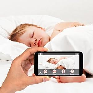 panasonic kx hn6001w smart home monitoring. Black Bedroom Furniture Sets. Home Design Ideas
