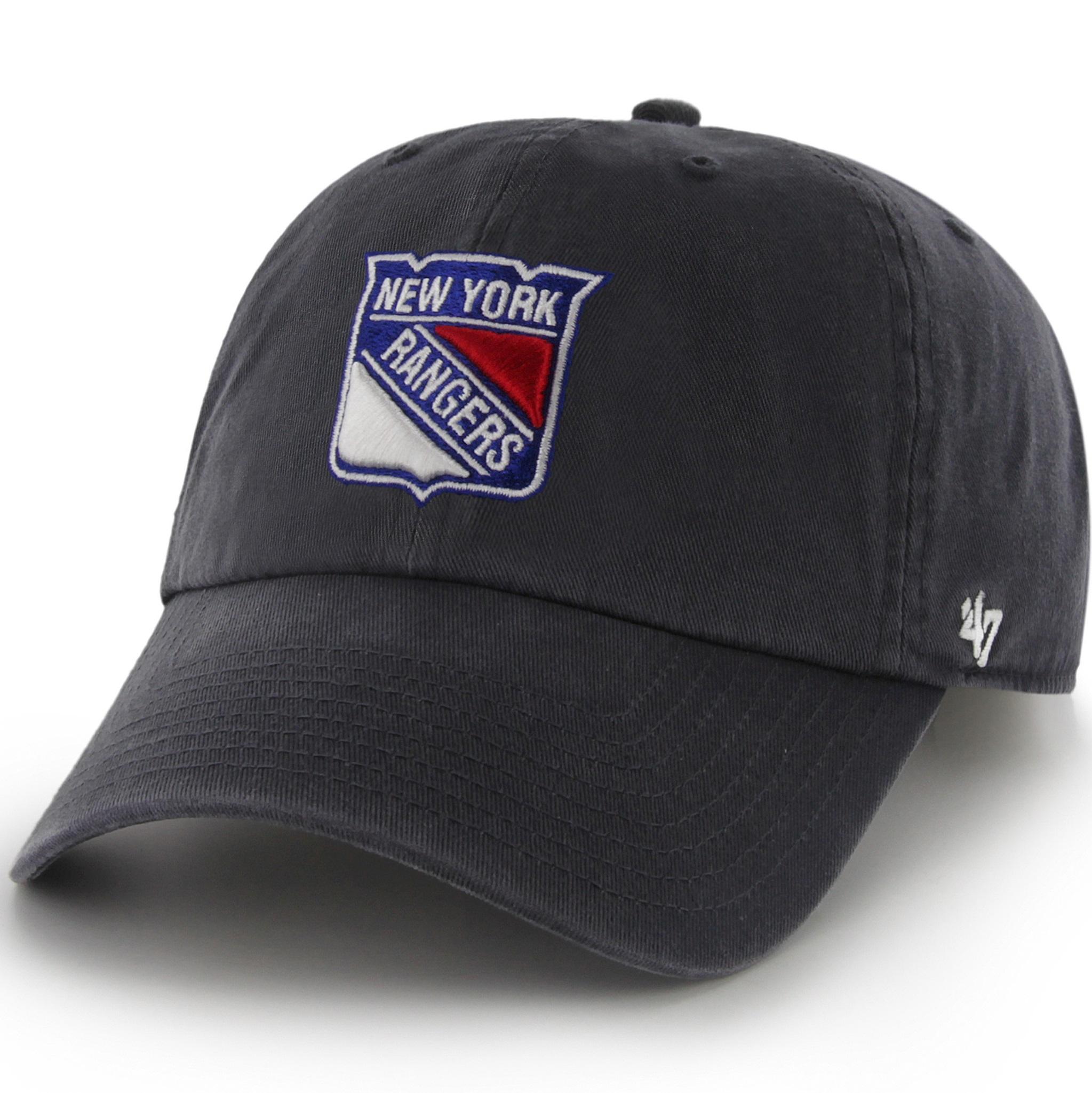 Amazon.com : NHL New York Rangers '47 Clean Up Adjustable Hat, Royal
