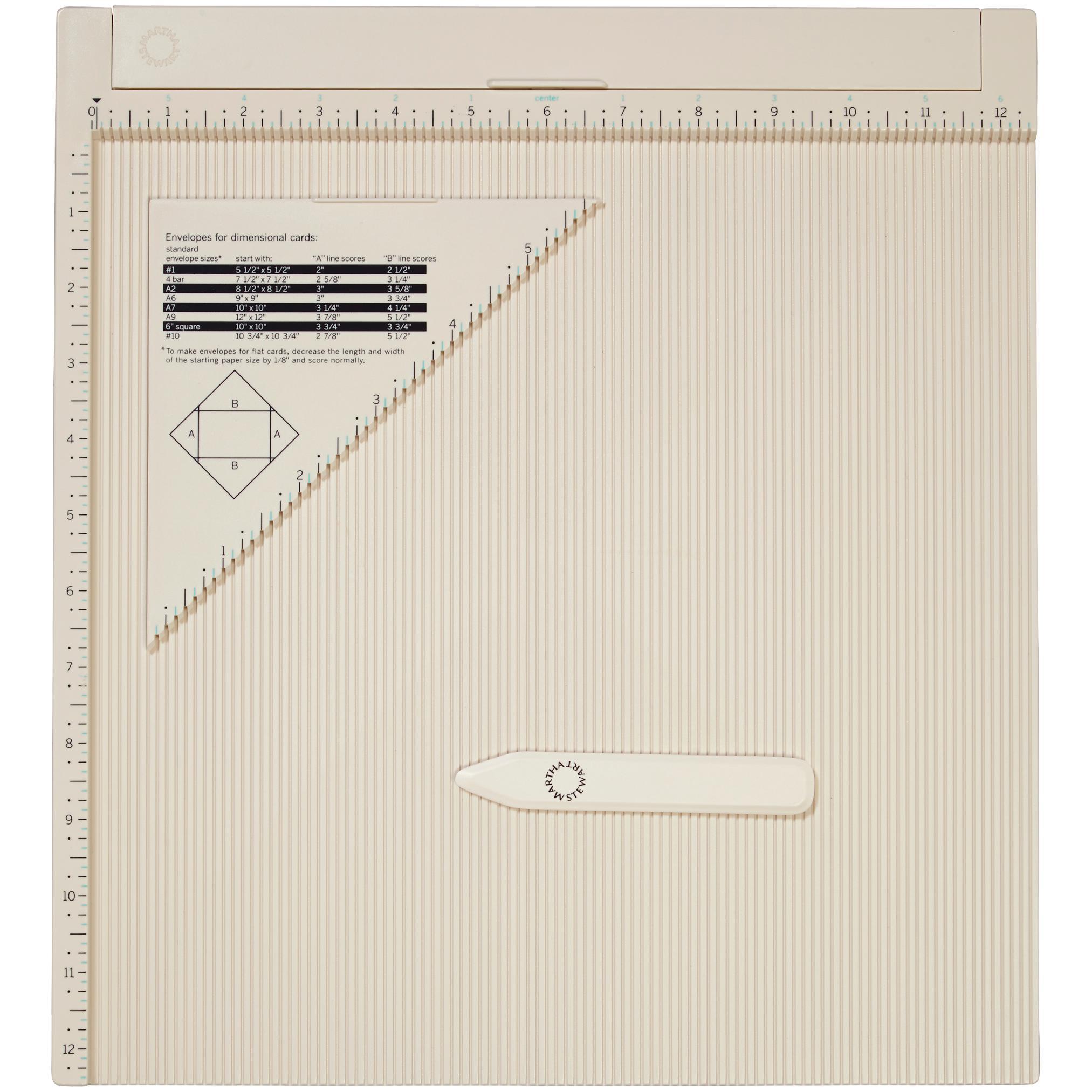 Amazon.com: Martha Stewart Crafts Scoring Board and Envelope Tool