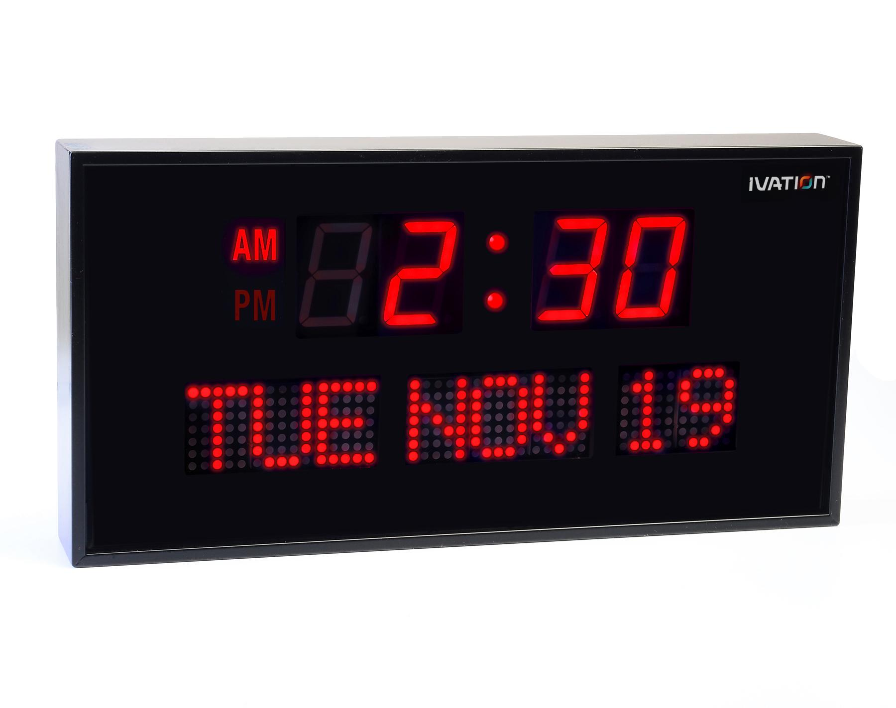 View larger Digital led wall clock