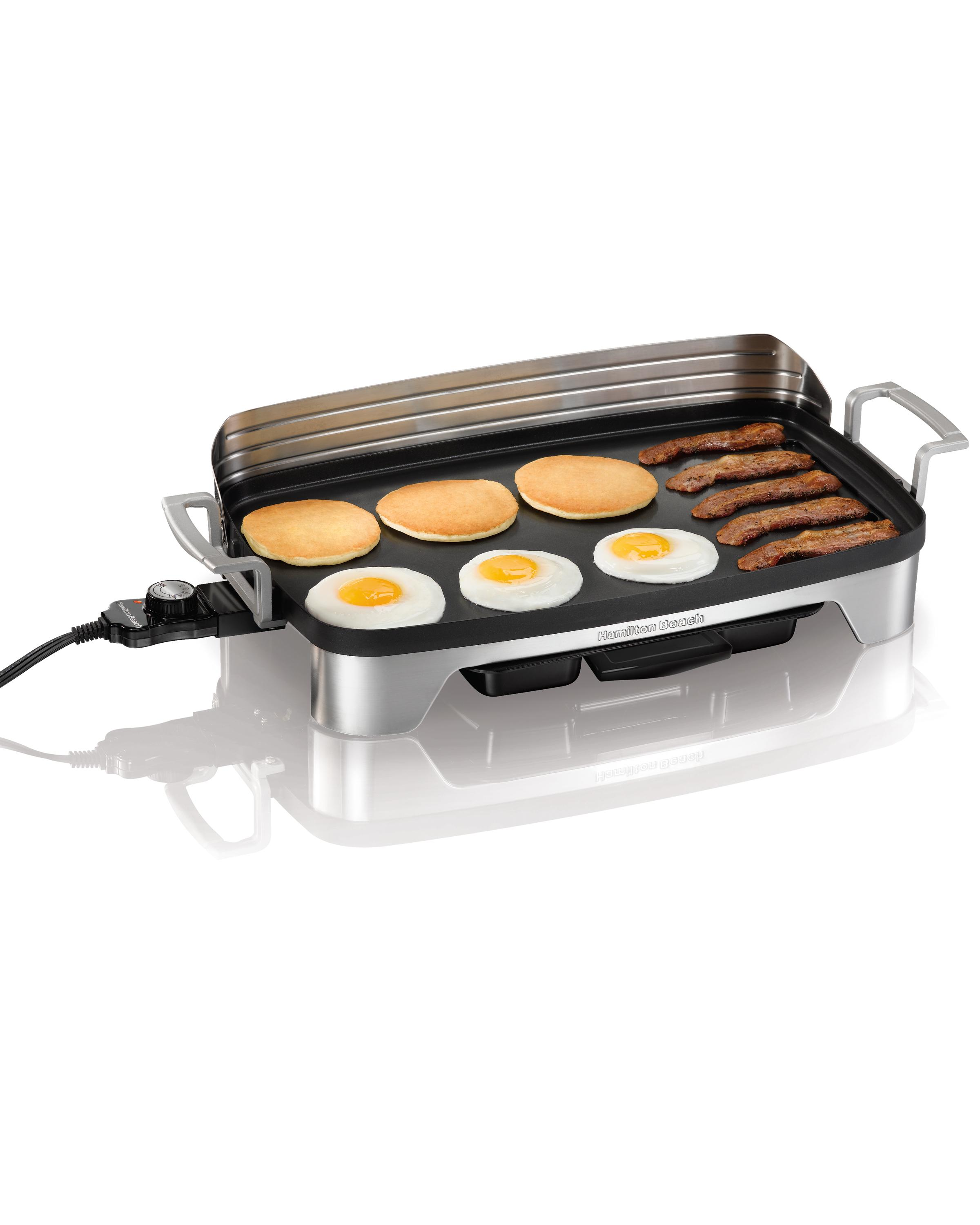 Electric Grill Griddle ~ Large electric griddle grill non stick cookware food