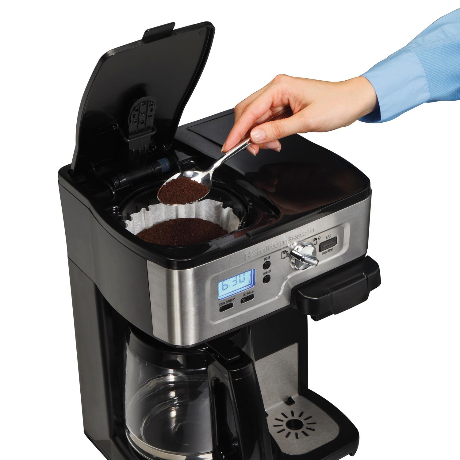 Hamilton Beach Single Serve Coffee Brewer And