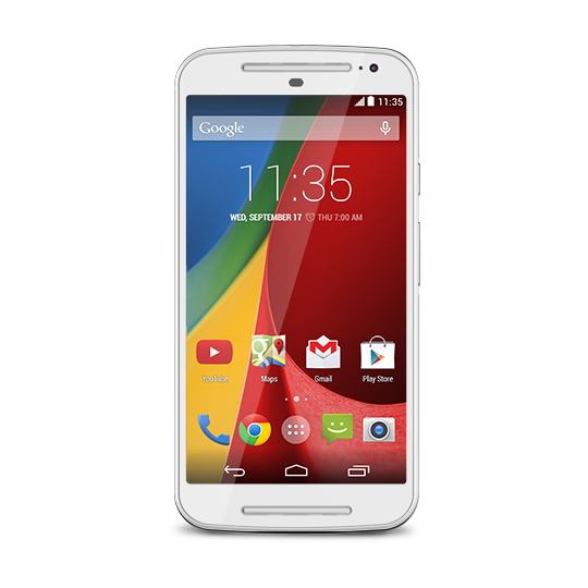 Amazon.com: Motorola Moto G (2nd Generation) - White - 8 GB - Global