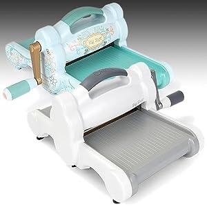 sizzix big machine only powder blue teal