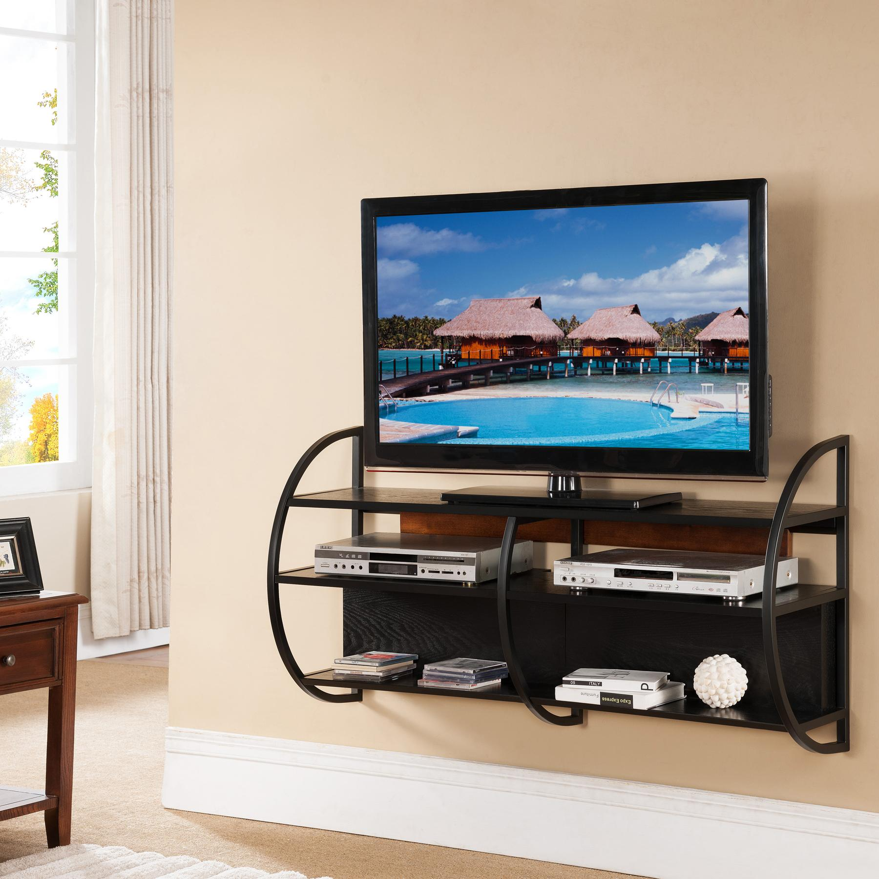 Leick Slate Floating Wall Mounted Tv Stand