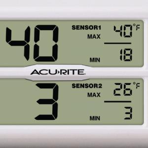 fridge thermometers, freezer thermometers