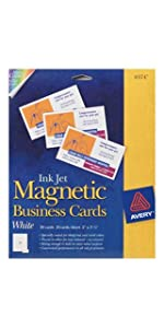 Avery Magnetic Business Cards