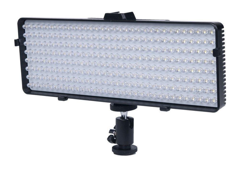 Polaroid 320 LED Dimmable, Vari-Temp Super Bright LED Light For