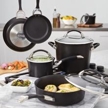 circulon symmetry hard anodized skillet pans