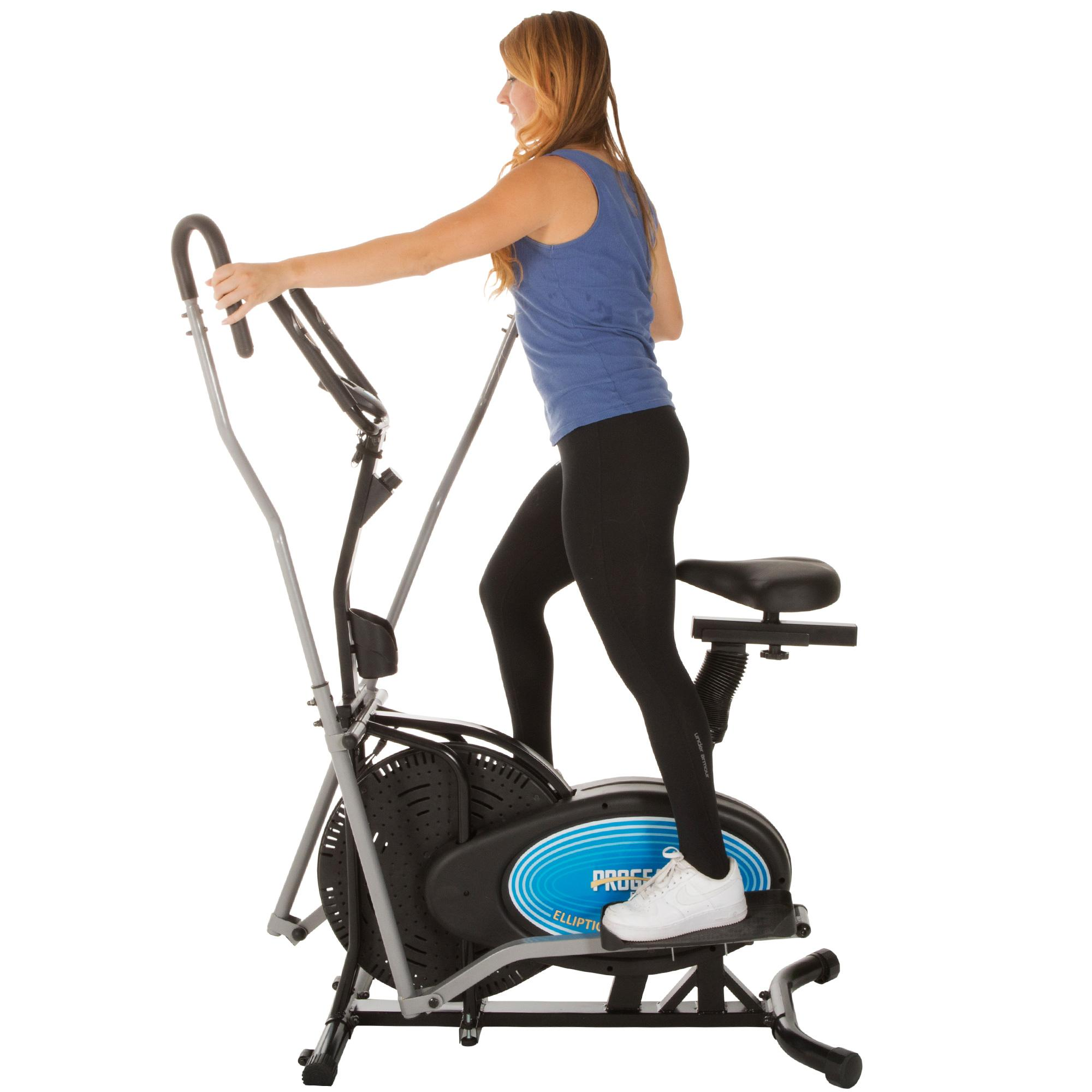 Elliptical Sit Down Bike: Dual Action Workout Arms