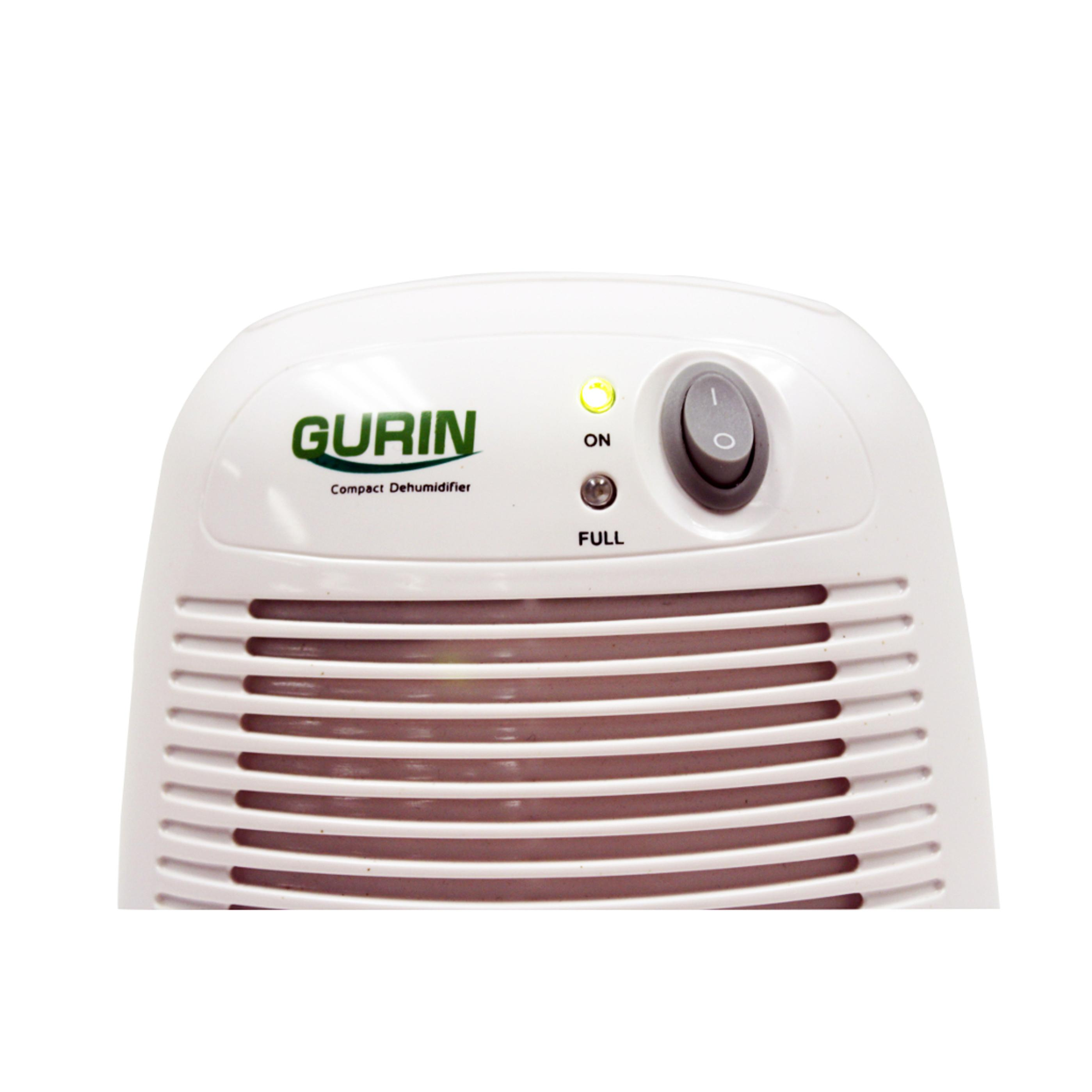 Gurin DHMD 210 Electric Compact Dehumidifier Close Up Top Half View #3E6528