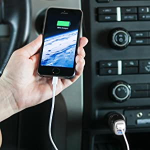 This is on my Wish List: Two port car charger