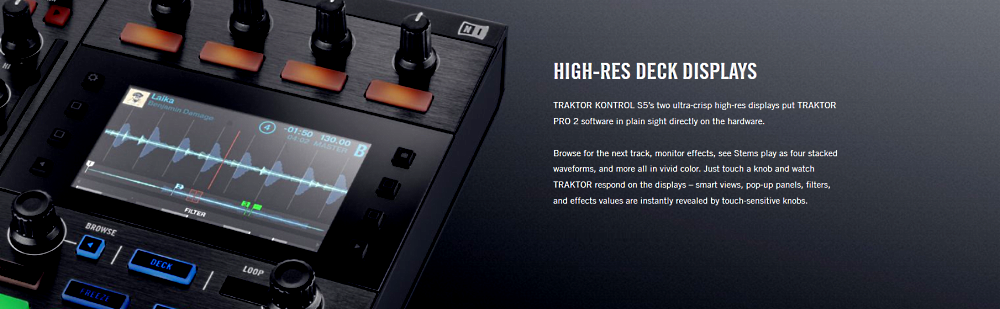 Amazon.com: Native Instruments Traktor Kontrol S5 DJ