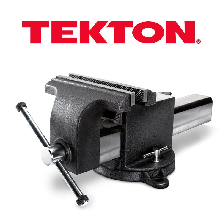 Tekton 5409 8 inch swivel bench vise home improvement 6 inch bench vise
