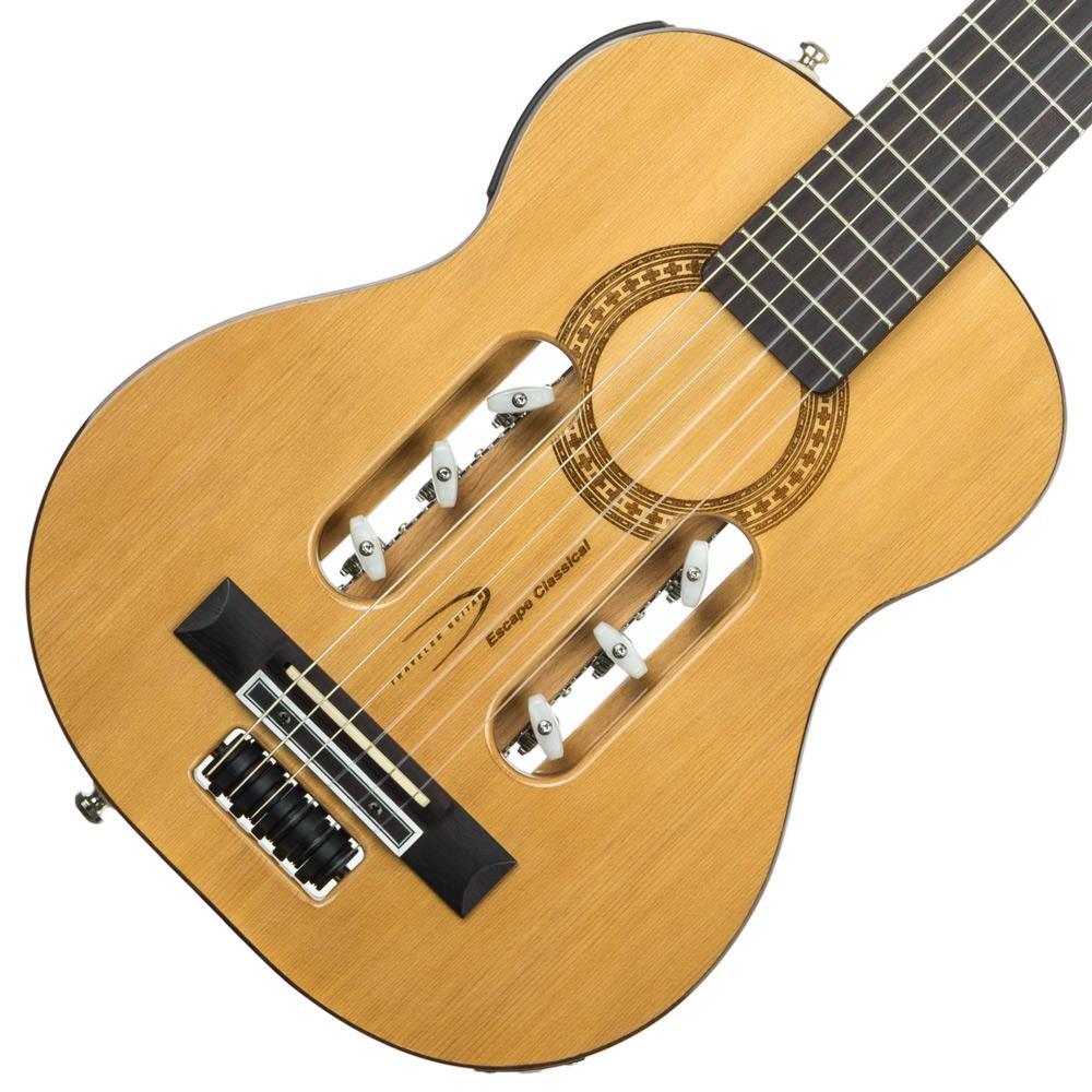 Amazon.com: Traveler Guitar ESCN GLS Escape Classical ...
