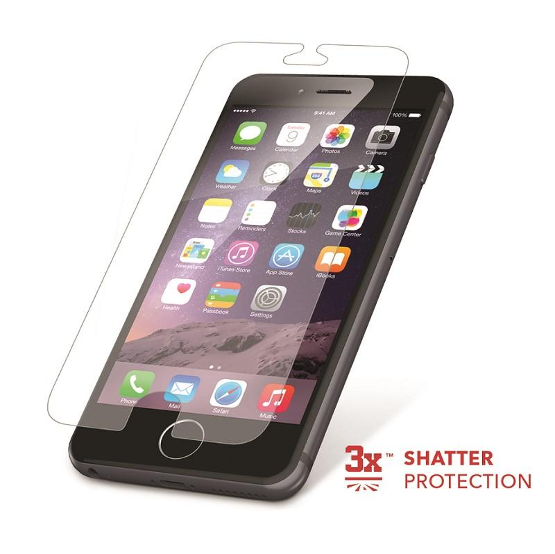 zagg hdx hd clarity extreme shatter screen protector iphone 6 6s full body new ebay. Black Bedroom Furniture Sets. Home Design Ideas