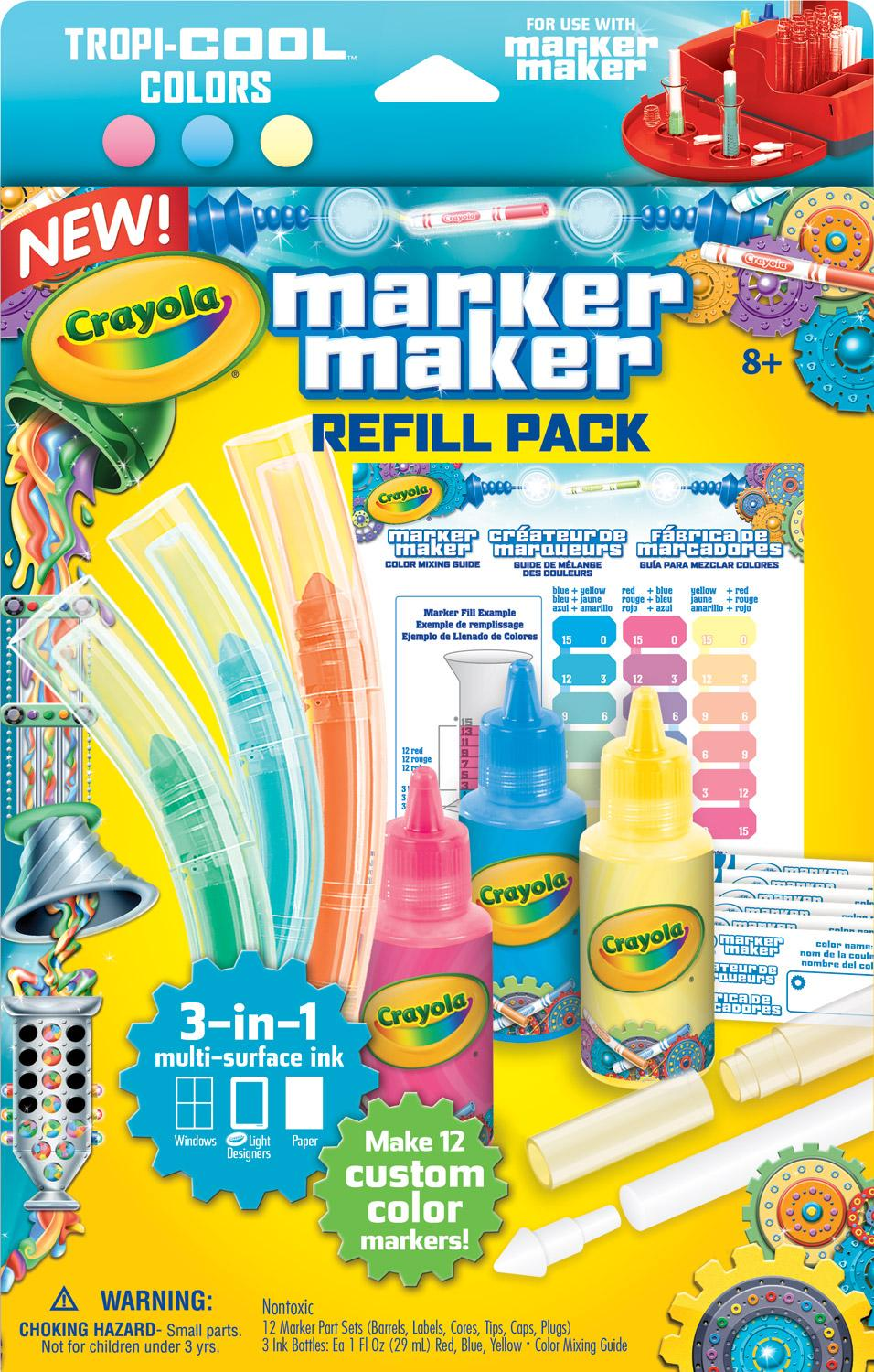 Amazon.com: Crayola Marker Maker Refill, Pastel Colors: Toys & Games