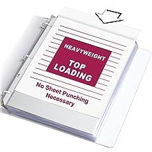 Heavyweight Sheet Protector