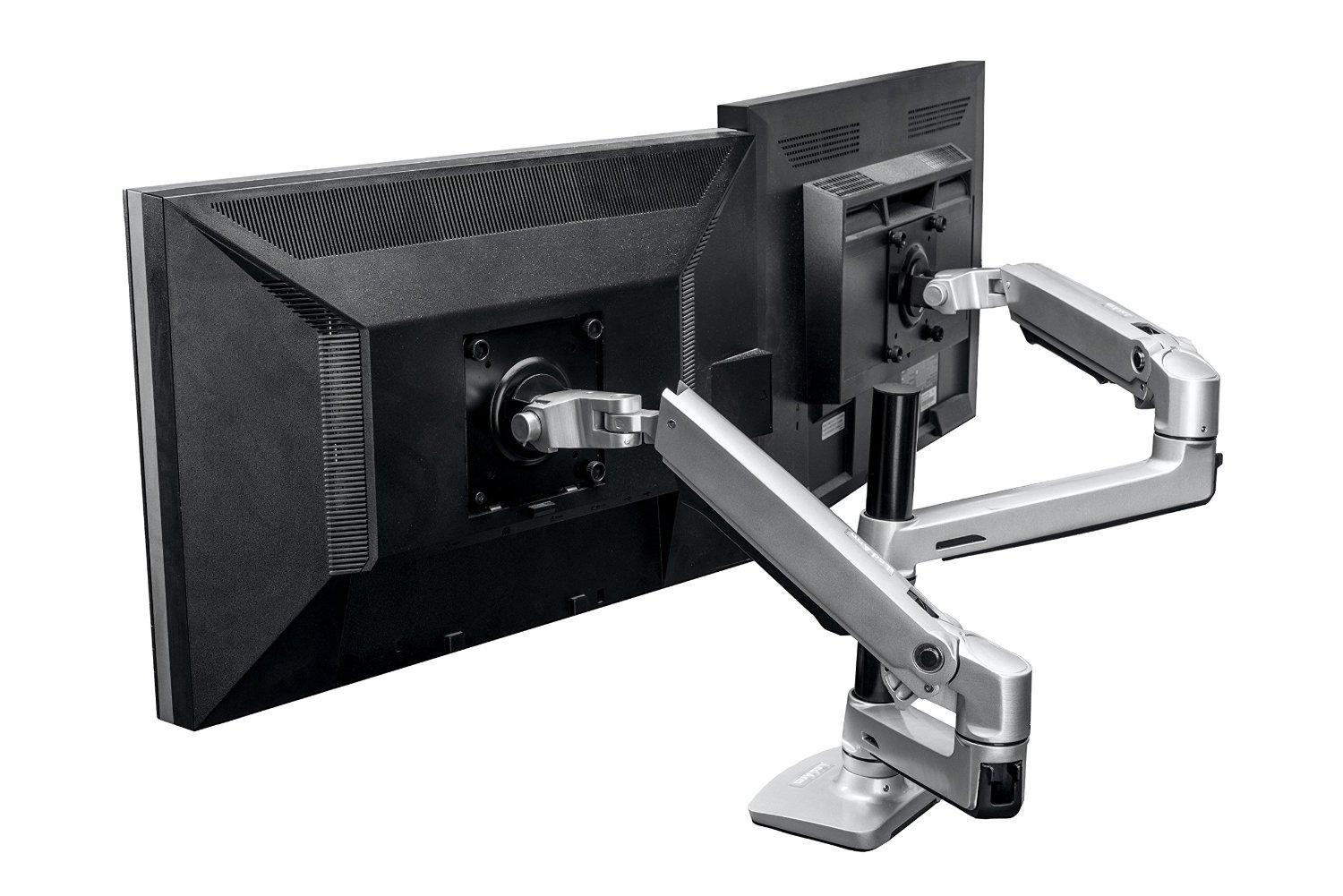 Amazon Com Halter Dual Lcd Adjustable Monitor Stand