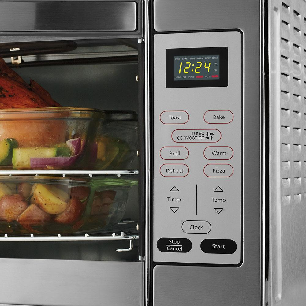 Oster Xl Countertop Oven Reviews : Oster Extra Large Capacity Countertop 6-Slice Digital Convection ...