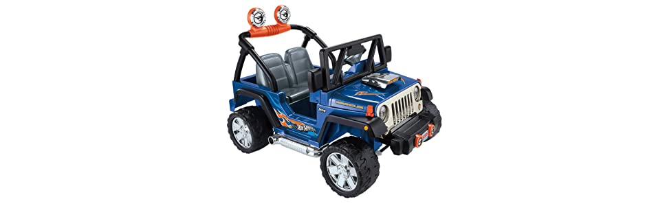 fisher price power wheels hot wheels jeep. Black Bedroom Furniture Sets. Home Design Ideas