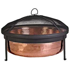 CobraCo Hand-Hammered Copper Fire Pit - SH101