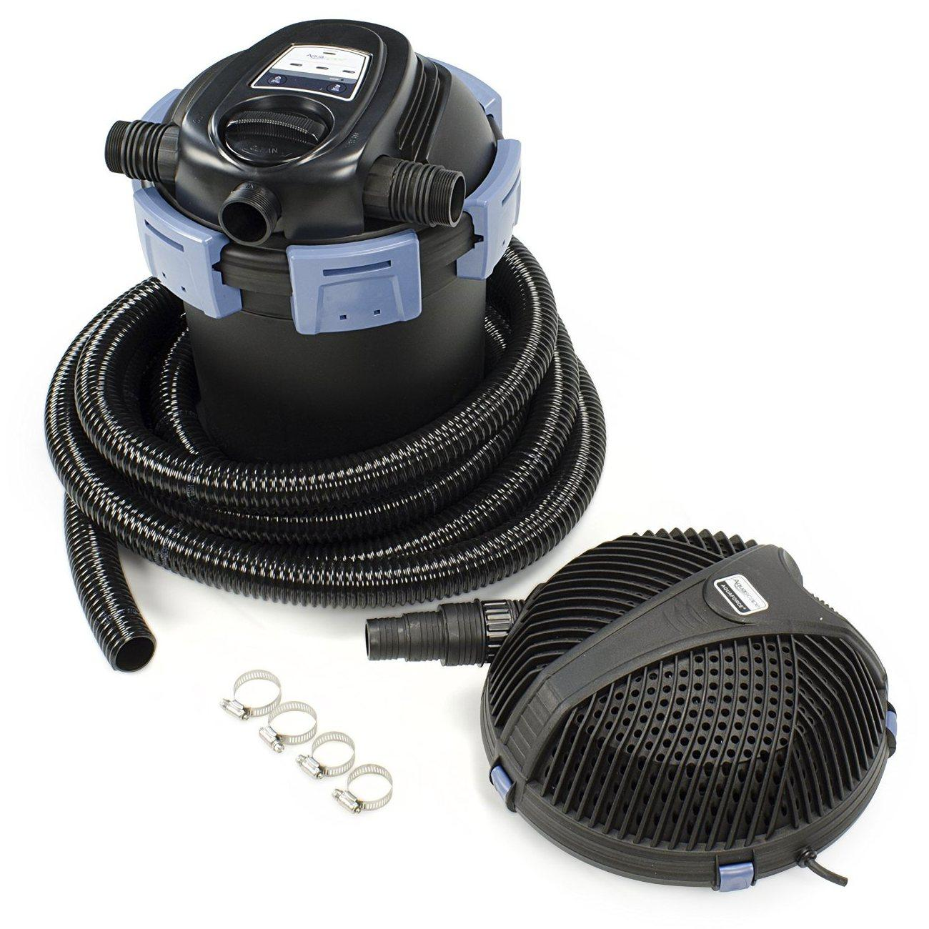 Aquascape 95060 ultraklean 3500 filtration for Pond pump and filter combined