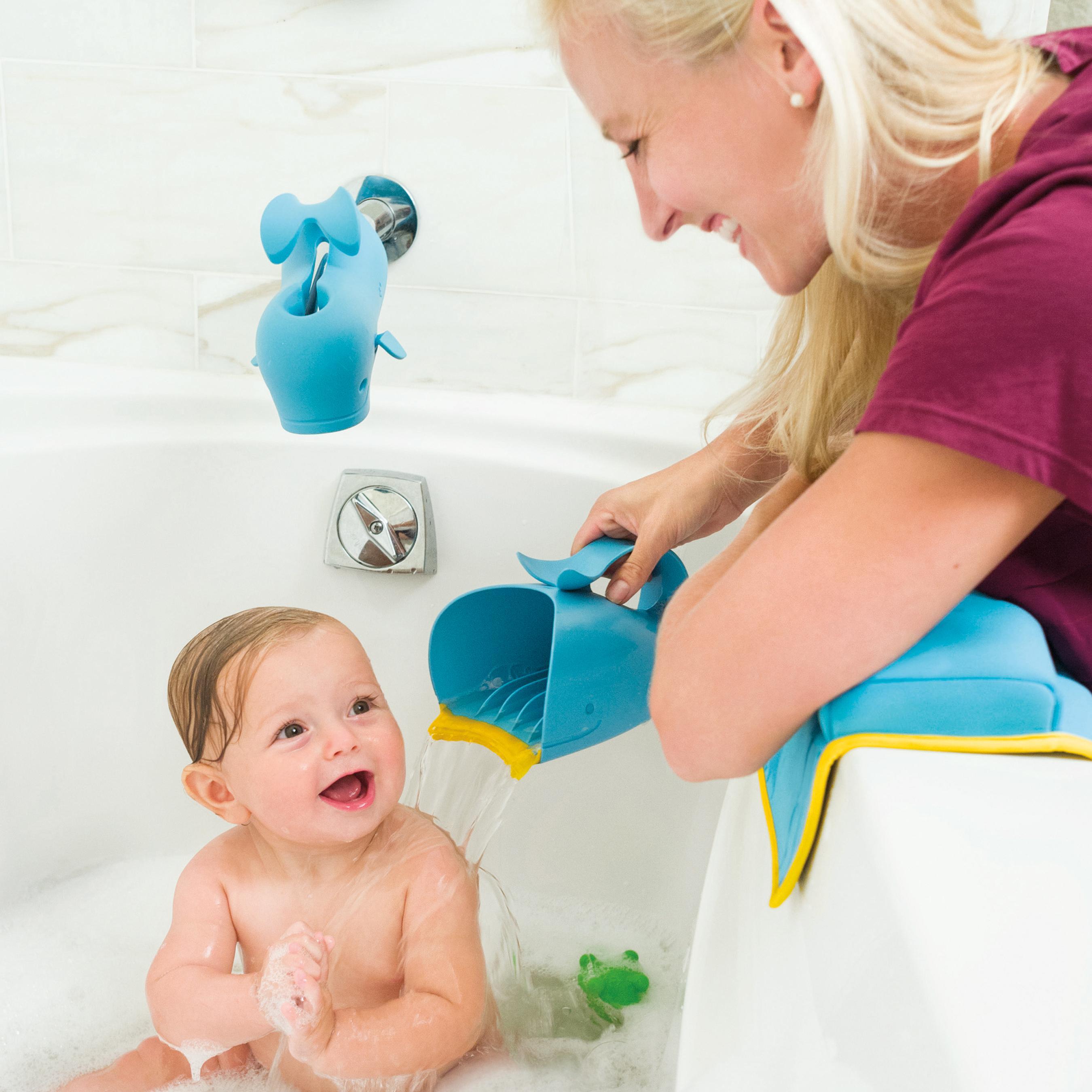 skip hop moby bathtub elbow rest blue bathtub side bumpers. Black Bedroom Furniture Sets. Home Design Ideas