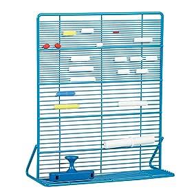 organize stir bars, magnetic stir bar garage, magnetic stir bar racj