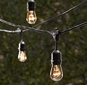String Light Company SL5015 Vintage Series 48 Ft Commercial Stri