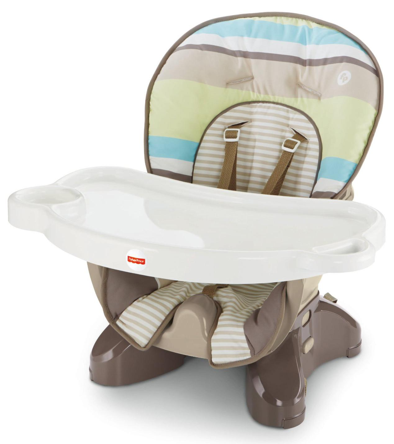 Fisher Price Spacesaver High Chair Stripes Childrens Highchai