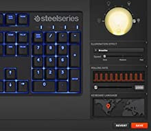 SteelSeries Apex M500 Mechanical Gaming Keyboard