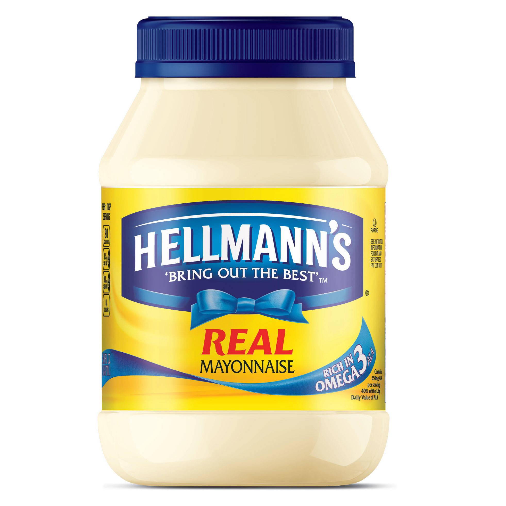 Amazon.com: Hellmann's Mayonnaise, Real 30 oz: Prime Pantry